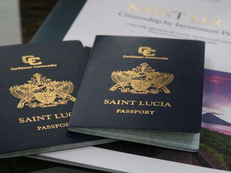 اخذ اقامت و پاسپورت سنت لوسیا