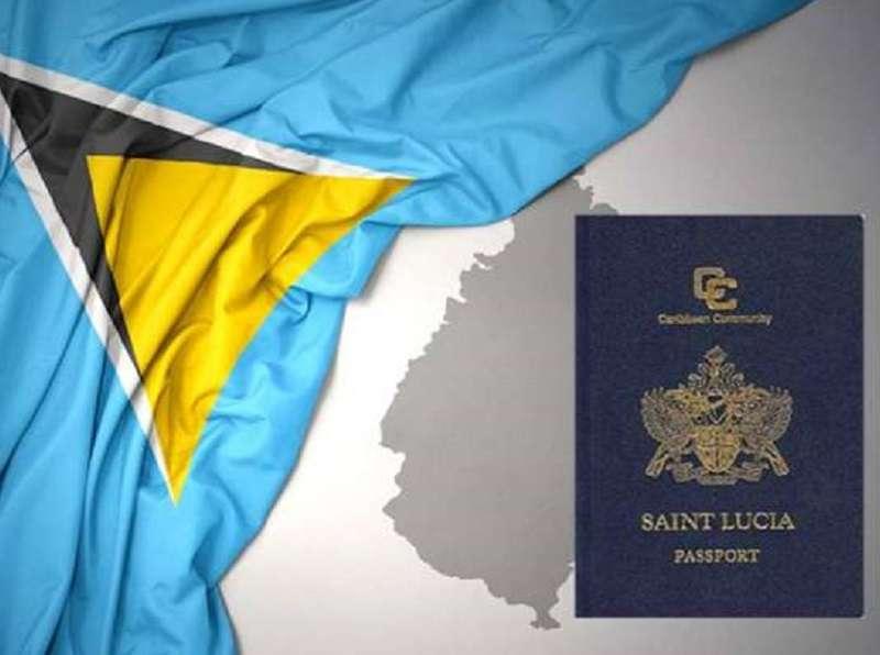 پاسپورت سنت لوسیا - اقامت سنت لوسیا